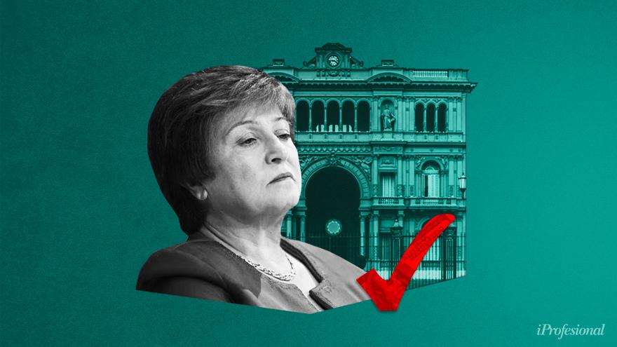 Al adelantar la negociación con el FMI que conduce Kristalina Georgieva, el Gobierno espera incidir en un cambio de expectativas del mercado