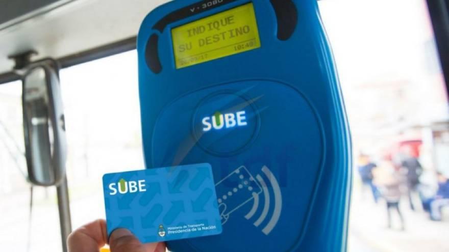 La tarjeta SUBE se puede usar para viajar en transporte público en CABA y en otros distritos del país