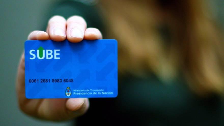 Registrar la SUBE es importante para gestionar el saldo y ver el registro de viajes