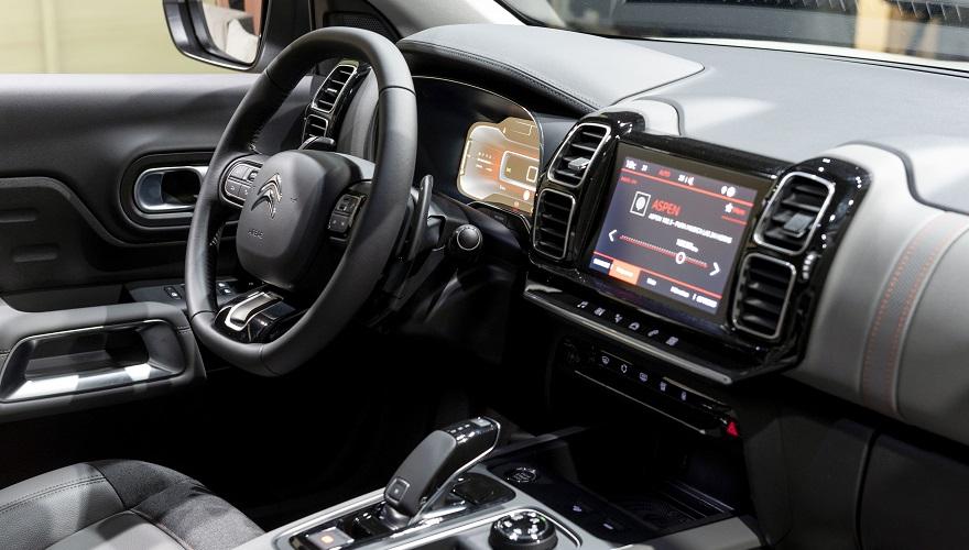 Citroën C5 Aircross, así es por dentro.