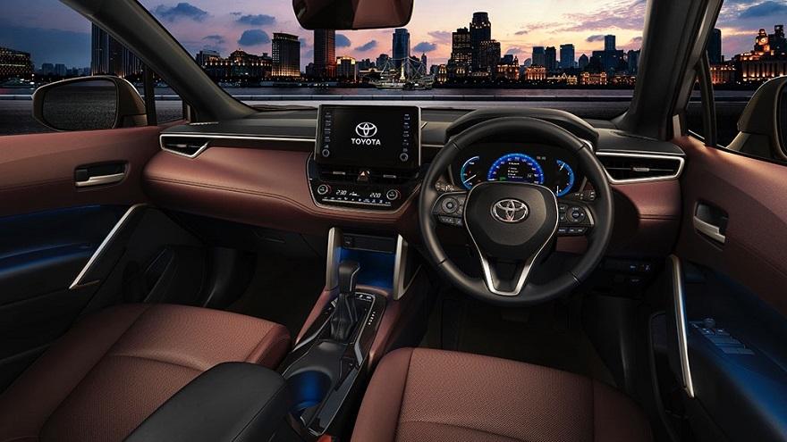 Así es el nuevo Toyota Corolla Cross por dentro.