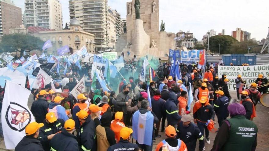 Los trabajadores de las empresas del grupo Vicentin apoyaron una eventual estatización.