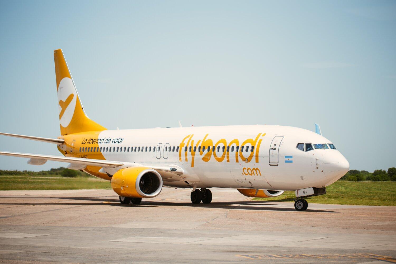 Flybondi retomará sus operaciones en la Argentina con una única aeronave.