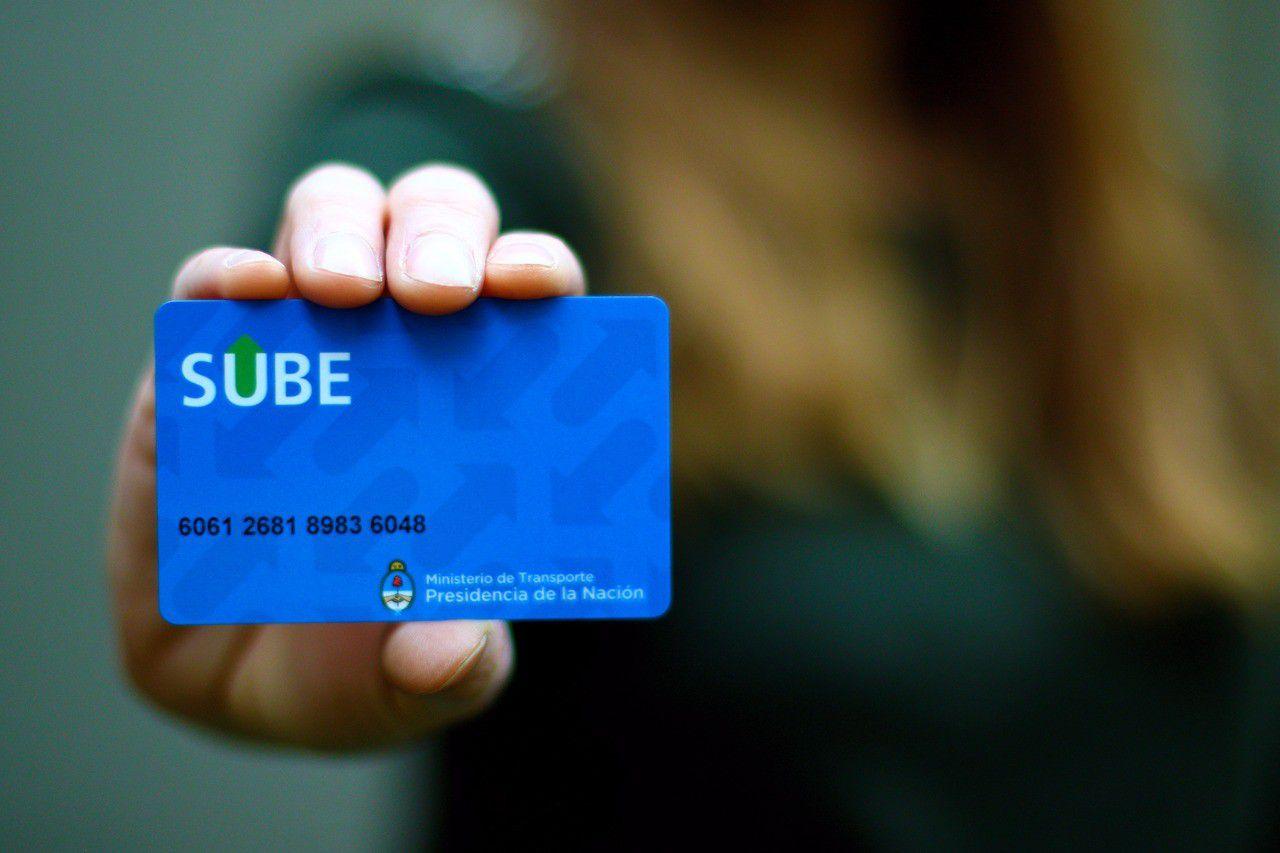 La tarjeta SUBE solo podrá ser utilizada por los trabajadores encuadrados dentro de las actividades