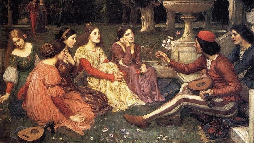 Decameron, los inventos de Boccaccio.