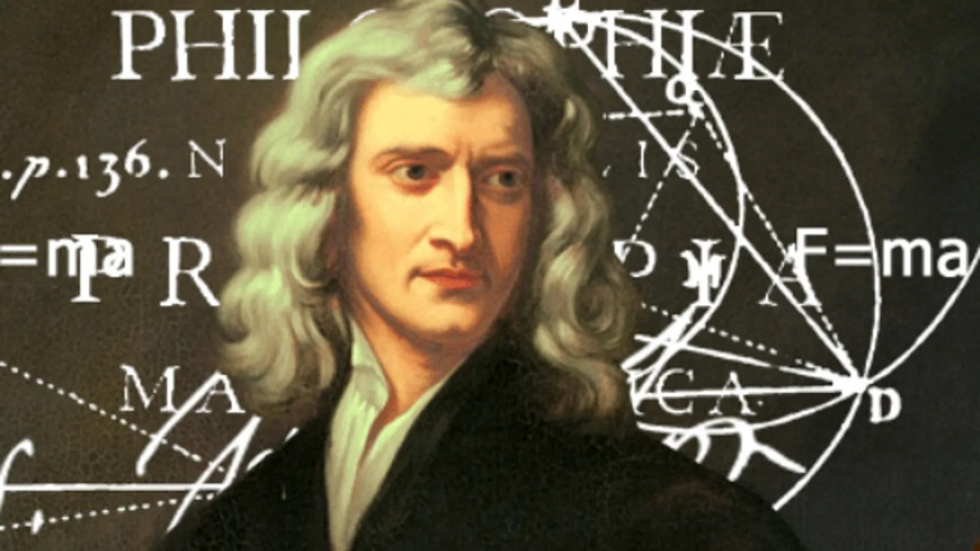 La teoría de la gravedad, uno de los inventos de Issac Newton.