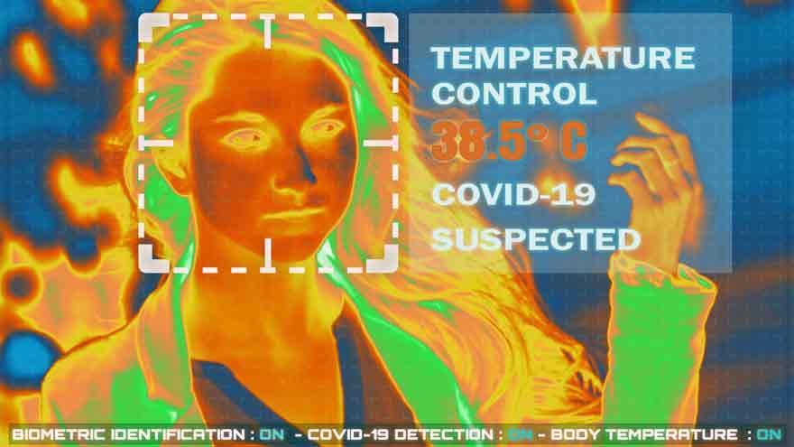 Las cámaras puede prevenir casos de Covid-19.