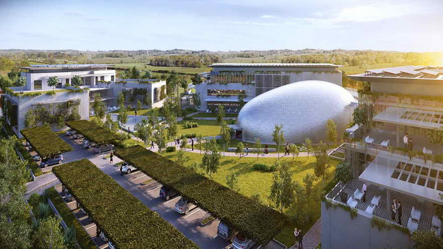 El complejo de Cites, ubicado en la ciudad de Sunchales, donde nació el primer fideicomiso de capital de riesgo