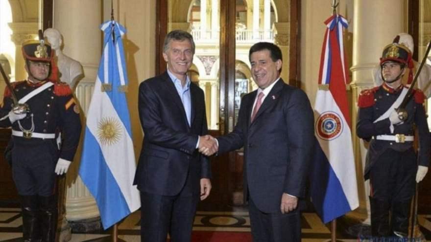 Hace pocos días, Macri viajó a Paraguay para reunirse con el presidente de ese país