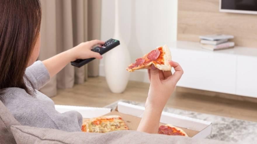 La familia ya había ingerido algunas porciones de pizza al momento del hallazgo
