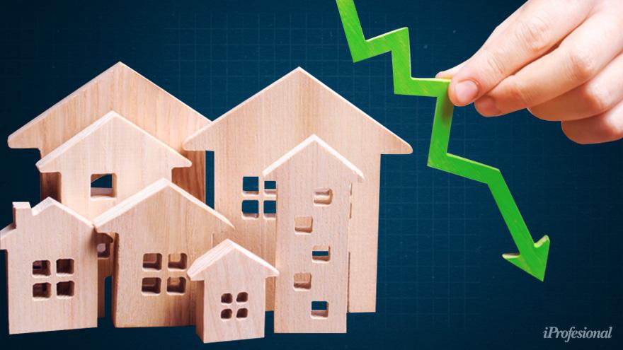 La sobreoferta de propiedades está llevando los precios de las propiedades a la baja
