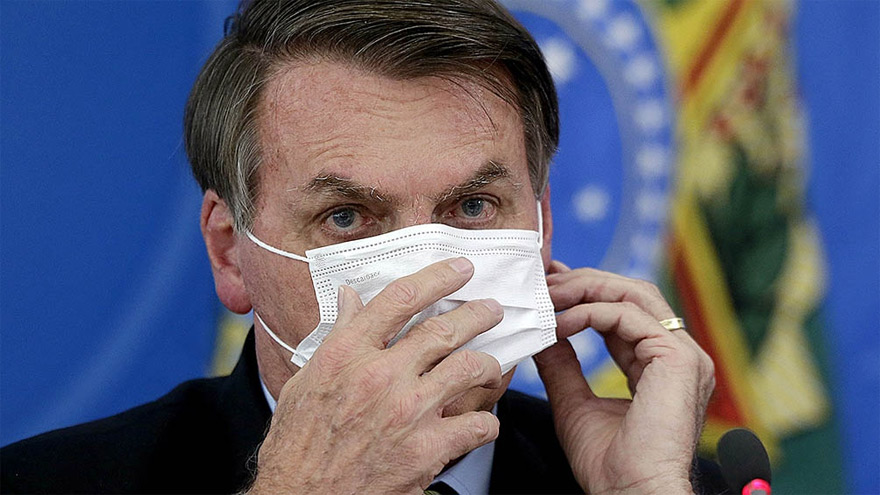 Bolsonaro busca nuevas estrategias para aminorar los estragos de la pandemia en su país.