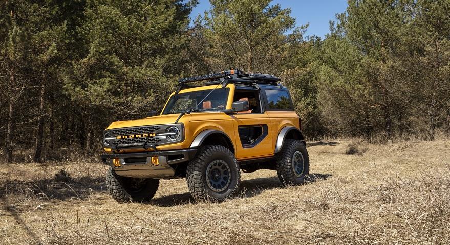 La nueva Ford Bronco está pensada para todoterreno.