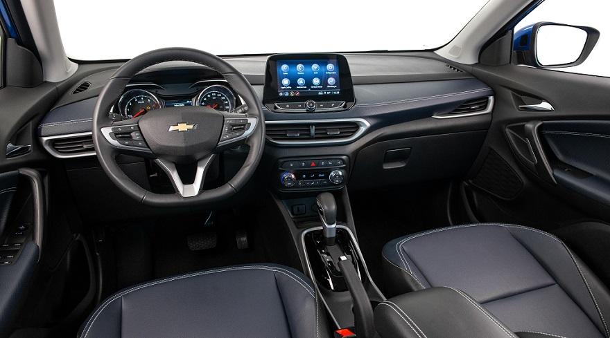 Chevrolet Tracker, así es por dentro.