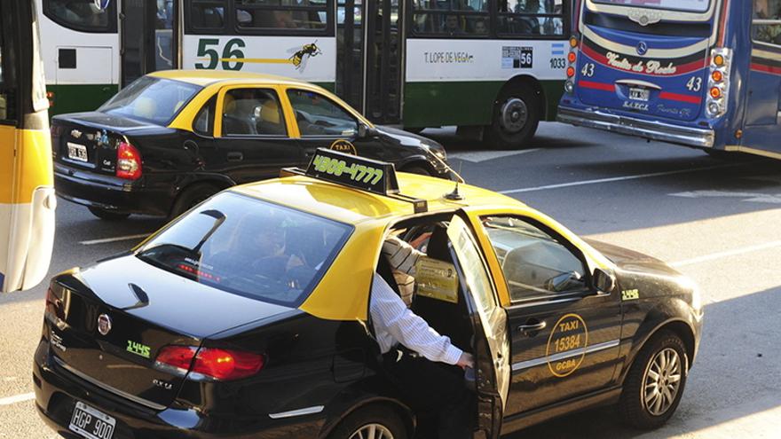 En Capital Federal circulan hoy alrededor de 18.000 taxis en un contexto de caída de la demanda del orden del 80 por ciento.