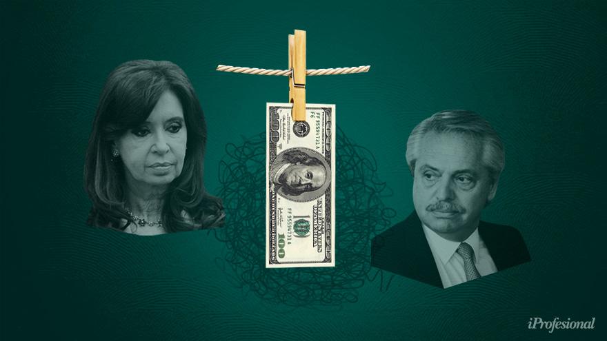 Para los críticos, la influencia de Cristina Kirchner está en la base de la crisis; mientras tanto, el kirchnerismo prepara la batalla política por el dólar