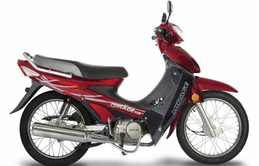 Corven, una de las motos más vendidas.