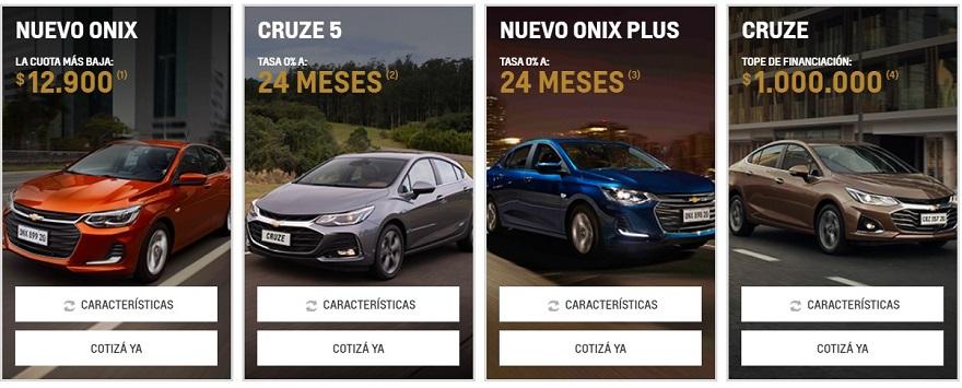 Los beneficios de Chevrolet para el mes de julio.