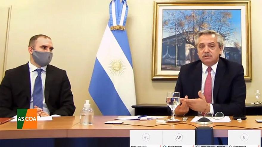 Martín Guzmán y Alberto Fernández sostuvieron una postura dura que fue respaldada por el FMI