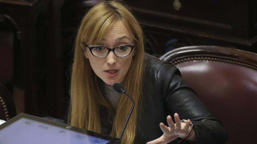 Anable Fernández Sagasti, la senadora oficialista por la provincia de Mendoza