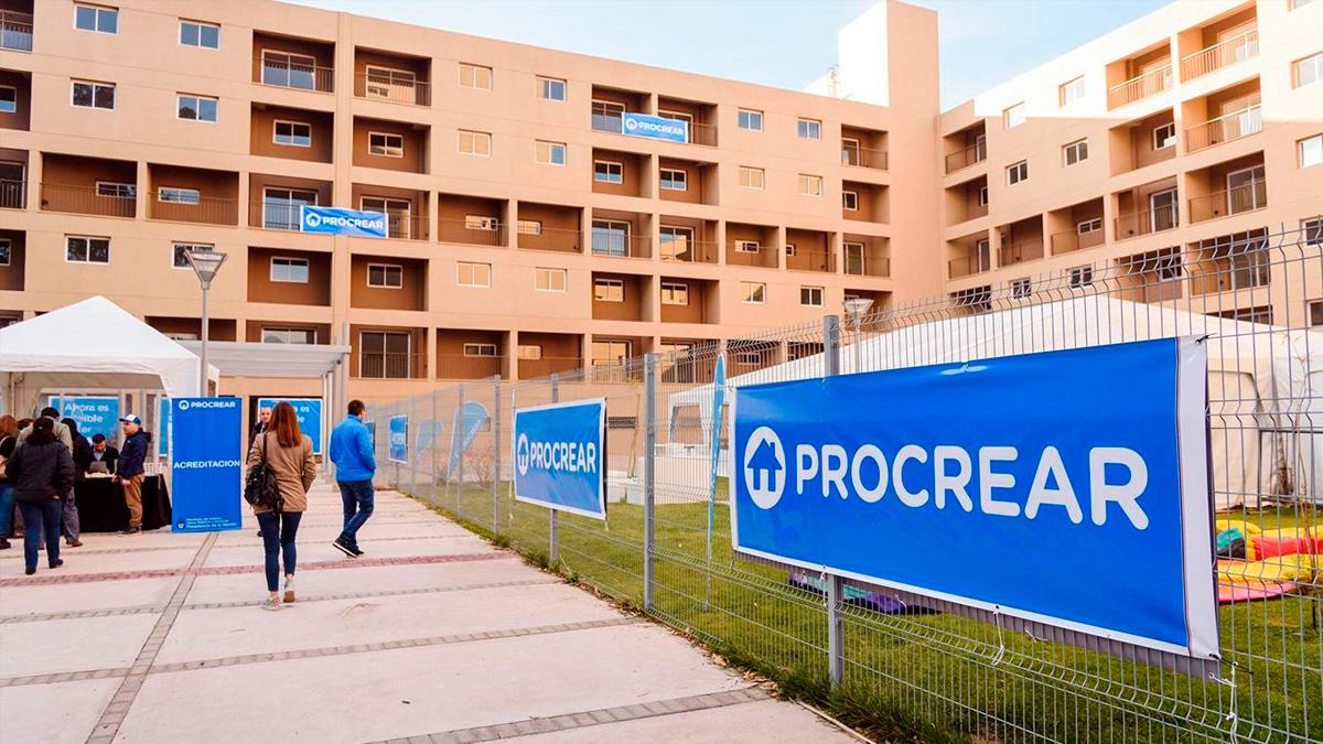 Muchas de las viviendas del programa Procrear se terminaron y entregaron en lo que va del 2020