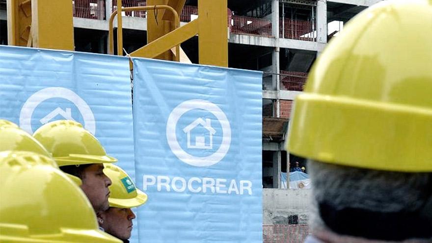 Procrear apunta a reactivar la industria de la construcción.