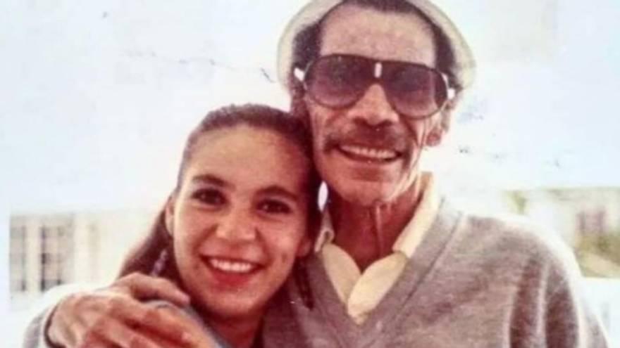 El actor que dio vida a Don Ramón junto a su hija, Carmen Valdés