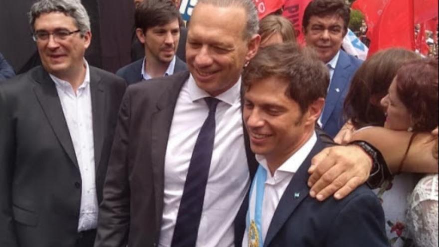 Sergio Berni,blanco de las críticas, mantiene el verticalismo con Cristina Kirchner