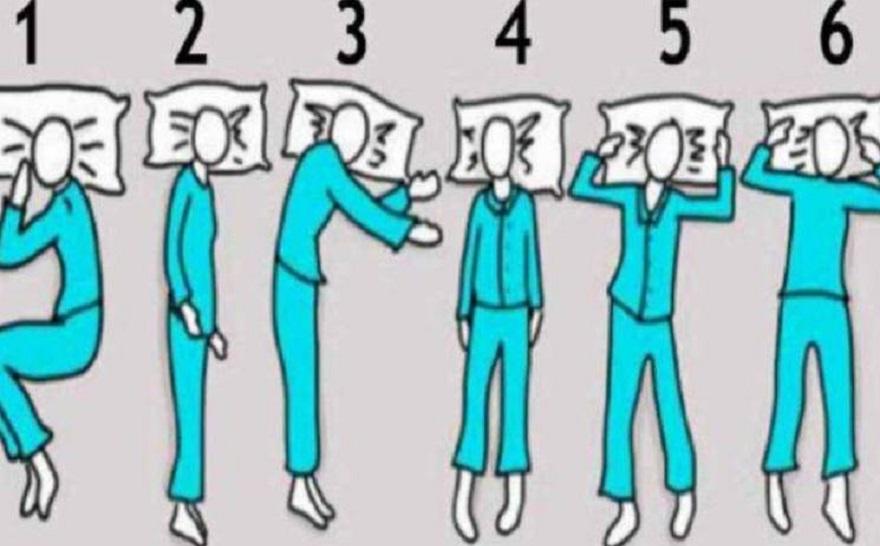 ¿Cuál es tu posición para dormir?