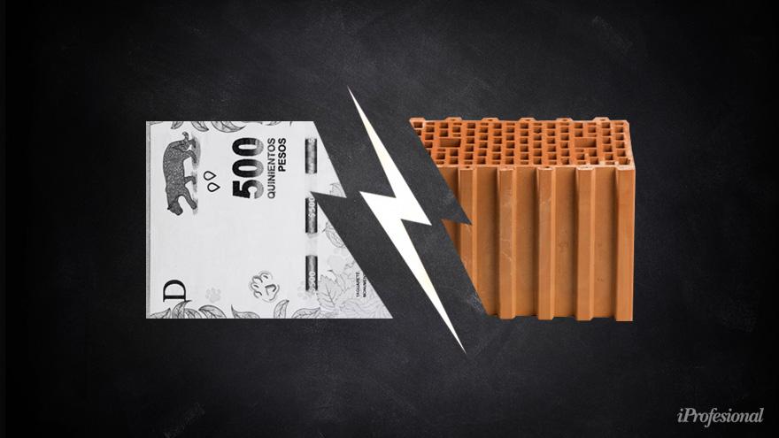 Los materiales para la construcción, una opción para evitar la desvalorización de los ahorros.