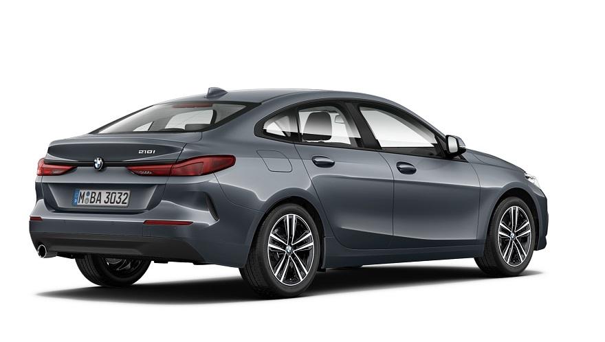 El BMW Serie 2 se caracteriza por su gran baúl.