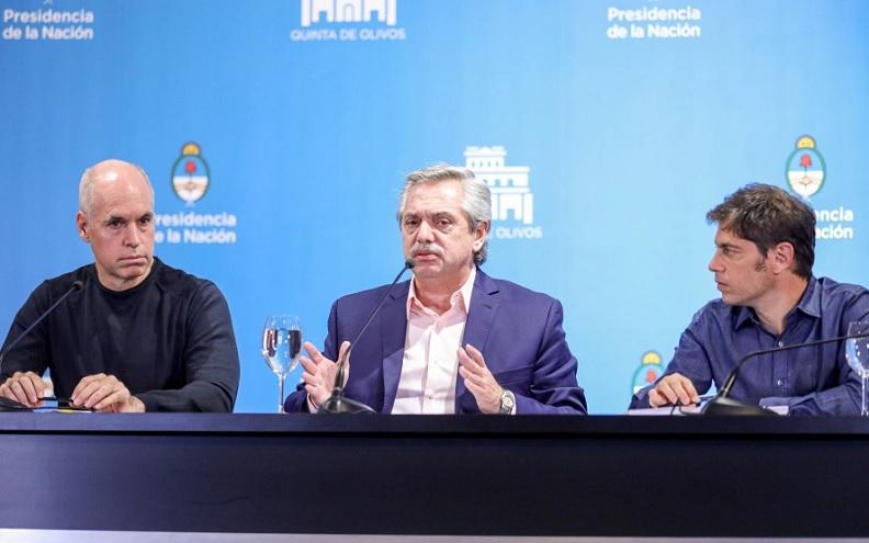 Este jueves Fernández, Kicillof y Rodríguez Larreta se reunirán en la Quinta de Olivod