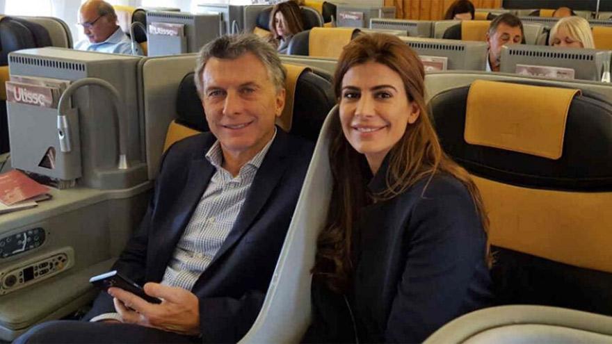 Macri, su esposa y su hija partieron rumbo a Europa.