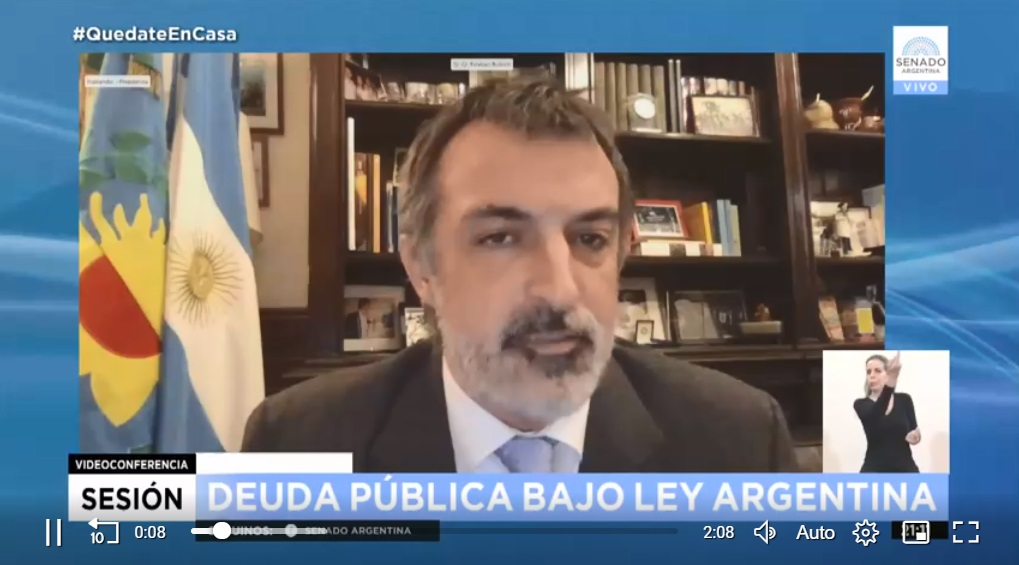 Esteban Bullrich criticó la extensión de la cuarentena: Me genera frustración