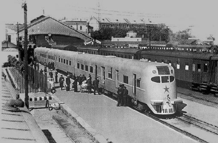 Ganz Rosario en la estación central de Riga