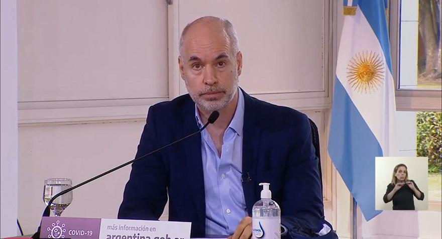 El jefe de Gobierno porteño explicó la situación en CABA