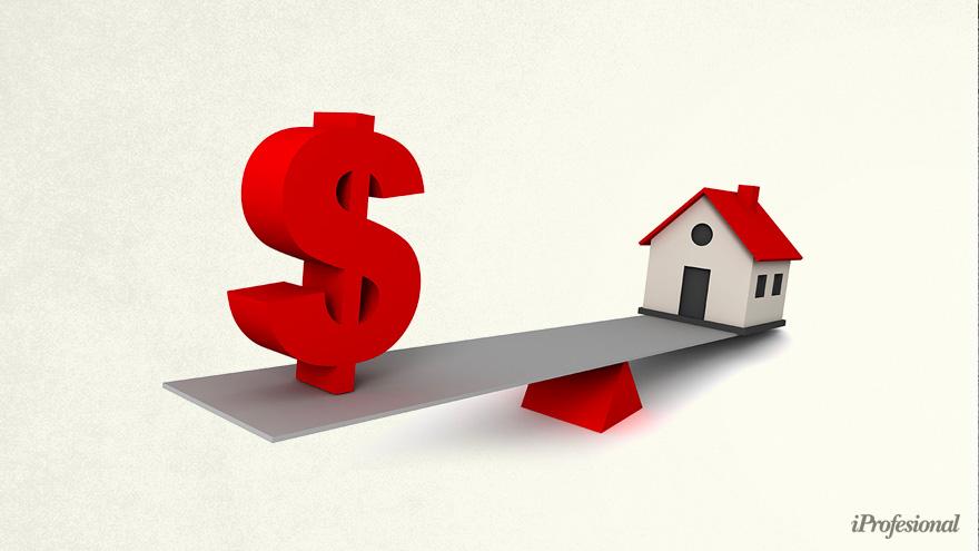 Oficial: dos salarios de clase media no alcanzan para cubrir la cuota de un hipotecario.
