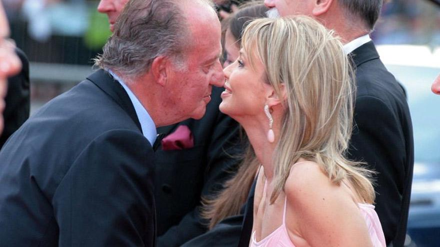 Corinna Larsen, ex pareja del rey Juan Carlos.