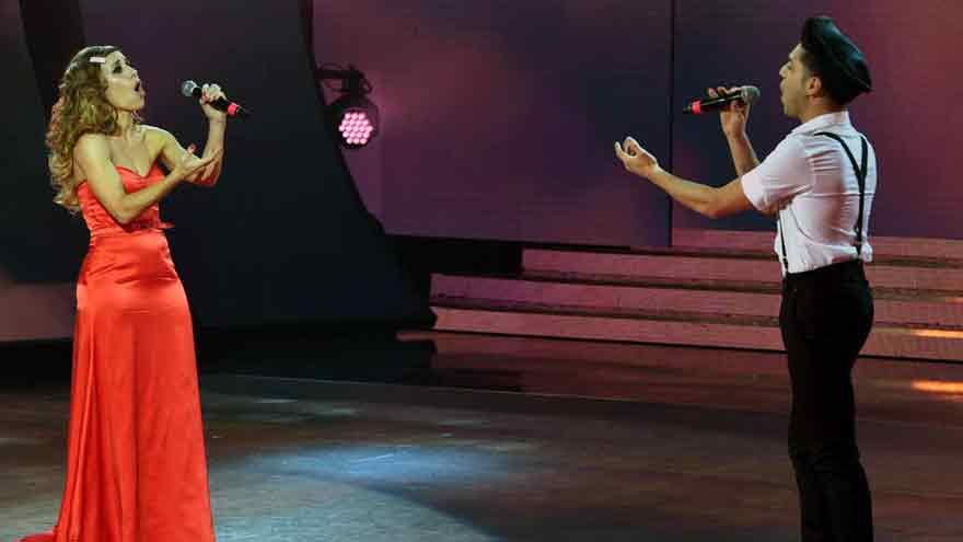Mariana Brey emocionó la audiencia y mantuvo el rating del Cantando.