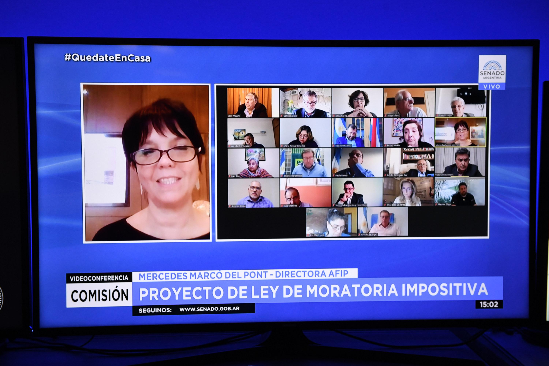 La titular de la AFIP, Mercedes Marcó del Pont, adelantó una mejora en la recaudación que se conocerá esta semana