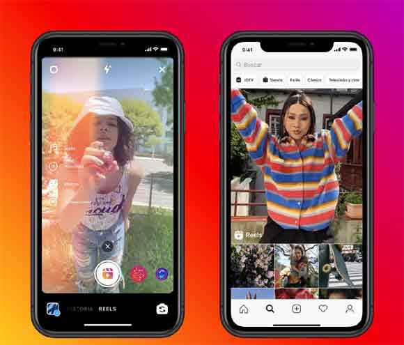 Instagram lanza Reels para competir contra TikTok.