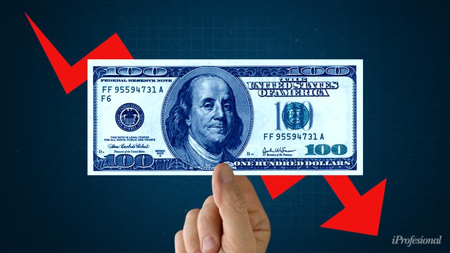 La baja del dólar blue no resuelve los problemas de la economía.