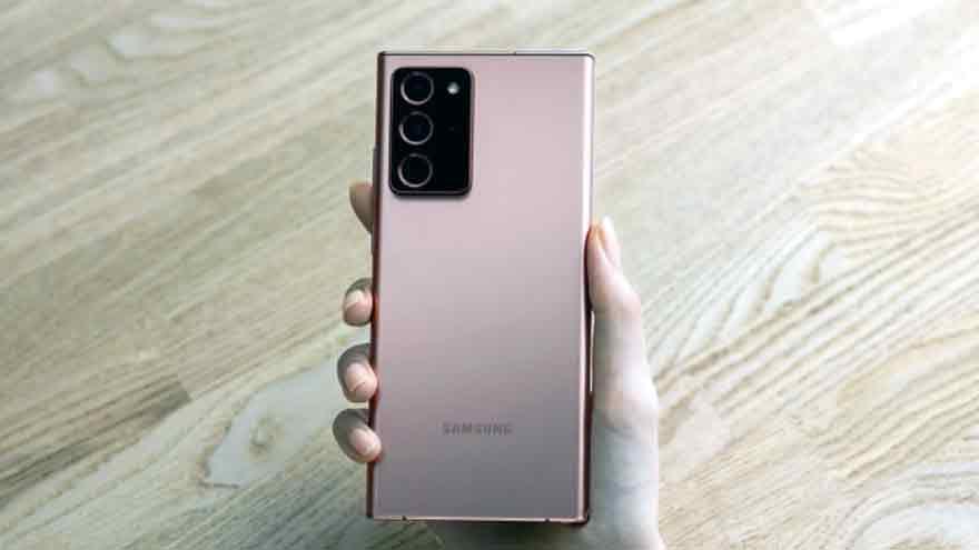 Los nuevos Note de Samsung tienen cámaras que graban videos 8K.