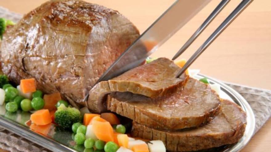 La carne no siempre queda jugosa cuando se calienta en el microondas