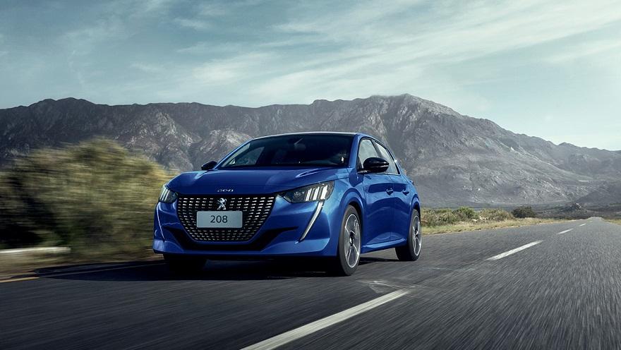 Peugeot 208 otra de los autos más vendidos.