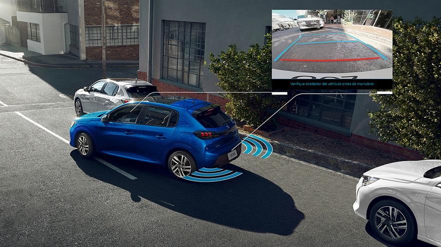 Peugeot 208, con todas las ADAS para garantizar más seguridad.
