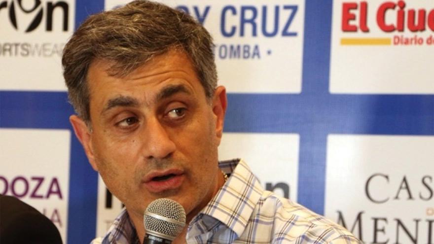 José Mansur, presidente de Godoy Cruz.