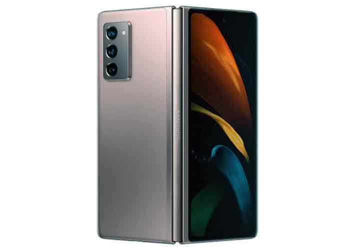 El nuevo móvil plegable de Samsung resalta por sus pantallas novedosas.