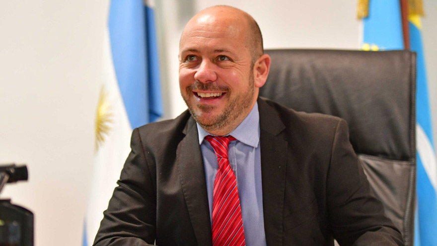 Ricardo Sastre, vicegobernador de Chubut y presidente de la Legislatura.