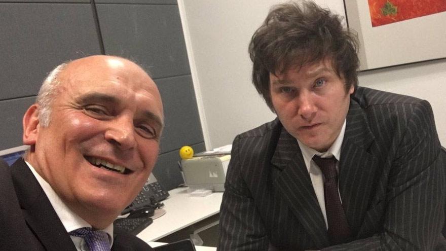 Milei y Espert: la dupla apunta a las elecciones legislativas del año próximo.